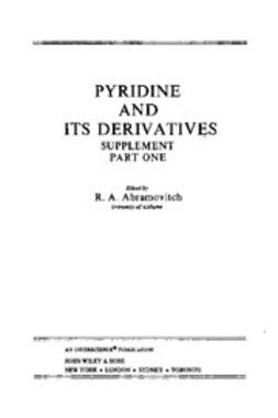 Abramovitch, R. A. - The Chemistry of Heterocyclic Compounds, Pyridine and Its Derivatives: Supplement, ebook