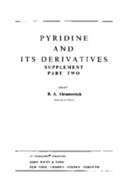 Abramovitch, R. A. - The Chemistry of Heterocyclic Compounds, Pyridine and Its Derivatives: Supplement, e-bok