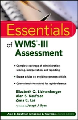 Kaufman, Alan S. - Essentials of WMS-III Assessment, ebook