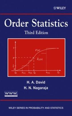 David, Herbert A. - Order Statistics, ebook