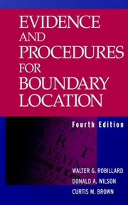 Robillard, Walter G. - Evidence and Procedures for Boundary Location, ebook