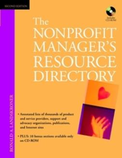 Landskroner, Ronald A. - The Nonprofit Manager's Resource Directory, e-kirja