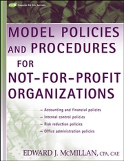 McMillan, Edward J. - Model Policies and Procedures for Not-for-Profit Organizations, ebook