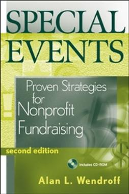 Wendroff, Alan L. - Special Events: Proven Strategies for Nonprofit Fundraising, e-bok