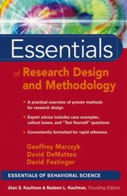 DeMatteo, David - Essentials of Research Design and Methodology, e-bok