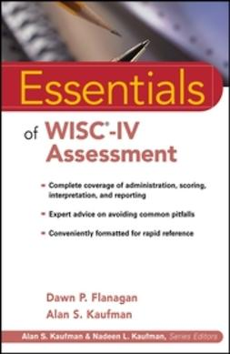 Flanagan, Dawn P. - Essentials of WISC-IV Assessment, ebook