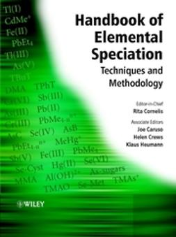 Cornelis, Rita - Handbook of Elemental Speciation: Techniques and Methodology, ebook