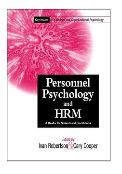 Cooper, Cary - Personnel Psychology and Human Resources Management: A Reader for Students and Practitioners, e-kirja
