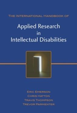 Emerson, Eric - International Handbook of Applied Research in Intellectual Disabilities, ebook