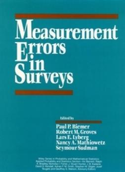 Biemer, Paul P. - Measurement Errors in Surveys, ebook
