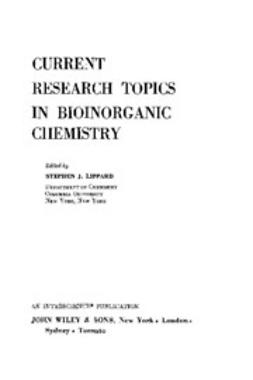 Lippard, Stephen J. - Progress in Inorganic Chemistry, e-kirja