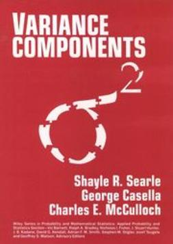 Searle, Shayle R. - Variance Components, ebook
