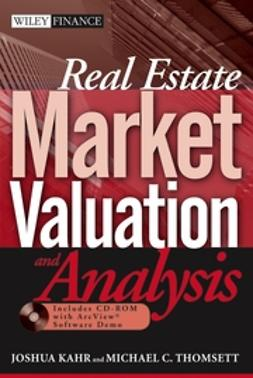 Kahr, Joshua - Real Estate Market Valuation and Analysis, ebook