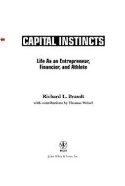 Armstrong, Lance - Capital Instincts: Life As an Entrepreneur, Financier, and Athlete, ebook