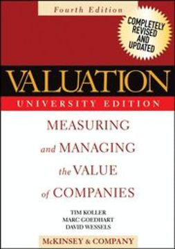 UNKNOWN - Valuation: Measuring and Managing the Value of Companies, ebook