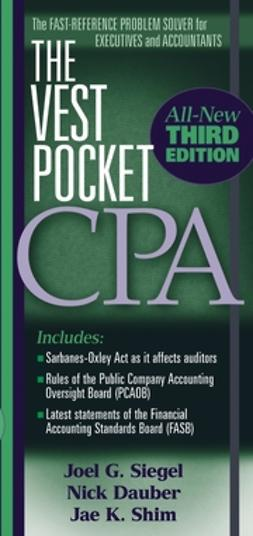 Dauber, Nick A. - The Vest Pocket CPA, ebook