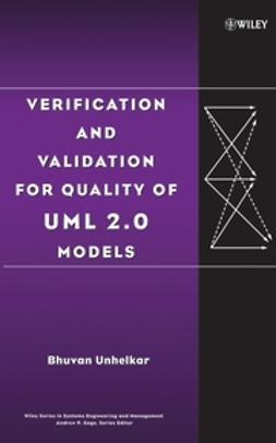 Unhelkar, Bhuvan - Verification and Validation for Quality of UML 2.0 Models, e-kirja