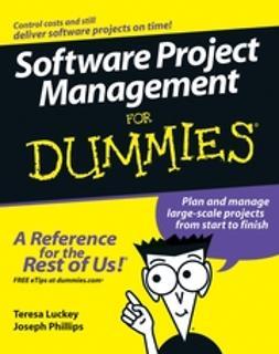 Luckey, Teresa - Software Project Management For Dummies, e-kirja