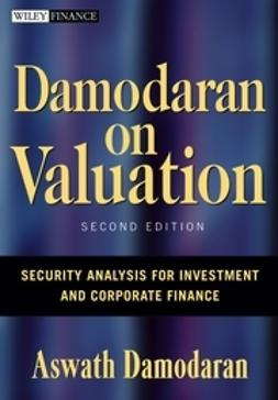 Damodaran, Aswath - Damodaran on Valuation: Security Analysis for Investment and Corporate Finance, ebook