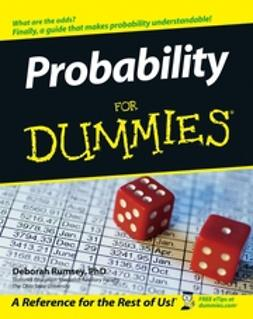 Rumsey, Deborah - Probability For Dummies, ebook