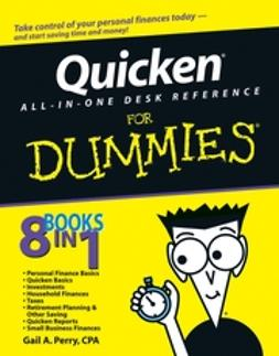 Perry, Gail - Quicken All-in-One Desk Reference For Dummies, ebook