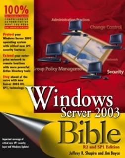 Boyce, Jim - Windows Server 2003 Bible, ebook
