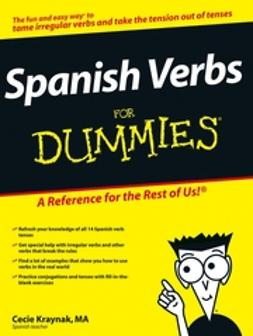 Kraynak, Cecie - Spanish Verbs For Dummies, e-kirja