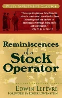 Lefèvre, Edwin - Reminiscences of a Stock Operator, ebook
