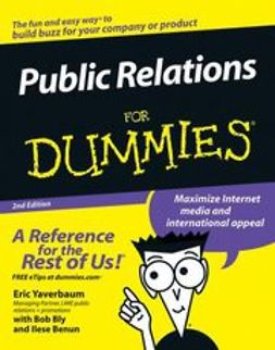 Yaverbaum, Eric - Public Relations For Dummies, ebook