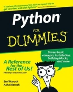 Maruch, Aahz - Python For Dummies, ebook