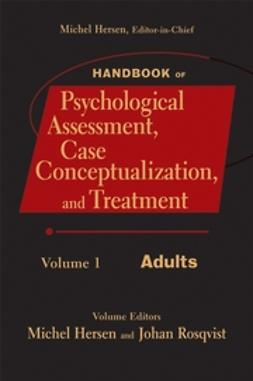 Hersen, Michel - Handbook of Psychological Assessment, Case Conceptualization, and Treatment, Adults, ebook