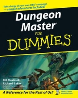 Baker, Richard - Dungeon Master For Dummies, e-kirja