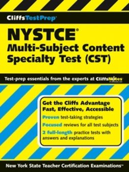 UNKNOWN - CliffsTestPrep NYSTCE: Multi-Subject Content Specialty Test (CST), e-kirja