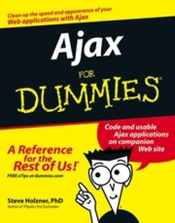 Holzner, Steve - Ajax For Dummies, ebook