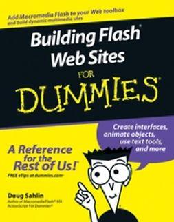 Sahlin, Doug - Building Flash Web Sites For Dummies, ebook