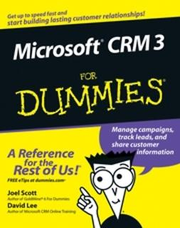 Lee, David - Microsoft CRM 3 For Dummies, ebook