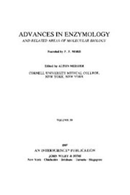 Meister, Alton - Advances in Enzymology and Related Areas of Molecular Biology, e-bok