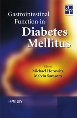 Horowitz, Michael - Gastrointestinal Function in Diabetes Mellitus, e-bok