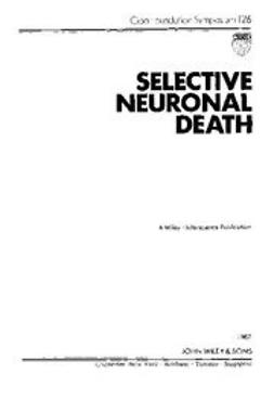 UNKNOWN - Selective Neuronal Death, ebook
