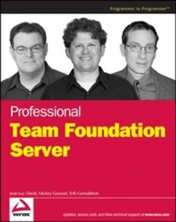 David, Jean-Luc - Professional Team Foundation Server, ebook
