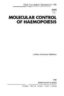 UNKNOWN - Molecular Control of Haemopoiesis, ebook