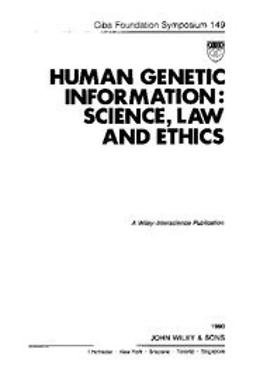 UNKNOWN - Human Genetic Information: Science, Law and Ethics, ebook