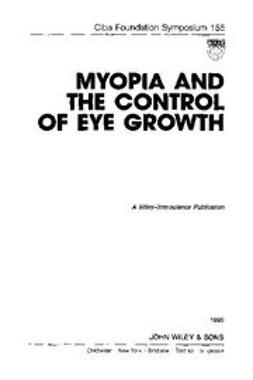 UNKNOWN - Myopia and the Control of Eye Growth, ebook