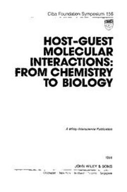 UNKNOWN - Host-Guest Molecular Interactions: From Chemistry to Biology, ebook