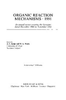 Knipe, Chris - Organic Reaction Mechanisms, 1991, ebook