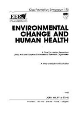 UNKNOWN - Environmental Change and Human Health, ebook