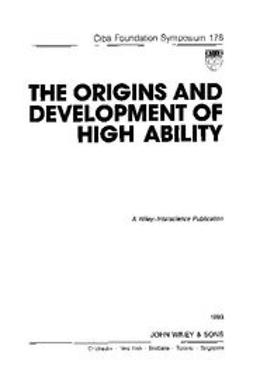 UNKNOWN - The Origins and Development of High Ability, ebook