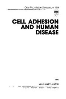 UNKNOWN - Cell Adhesion and Human Disease, ebook