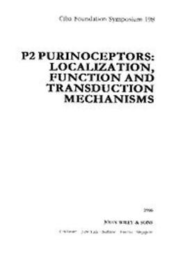 UNKNOWN - P2 Purinoceptors: Localization, Function and Transduction Mechanisms, ebook