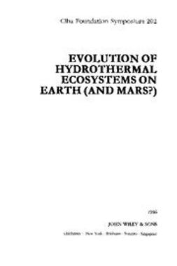 UNKNOWN - Evolution of Hydrothermal Ecosystems on Earth (and Mars), ebook